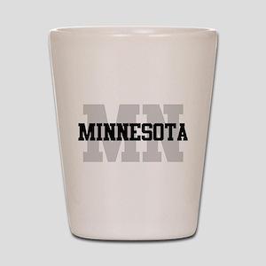MN Minnesota Shot Glass