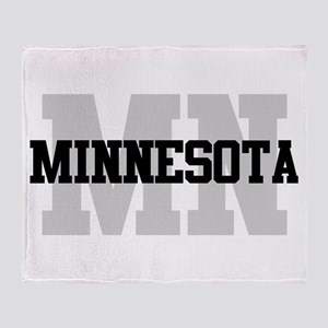 MN Minnesota Throw Blanket