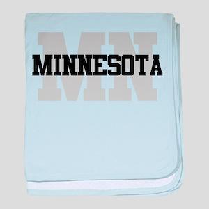 MN Minnesota baby blanket