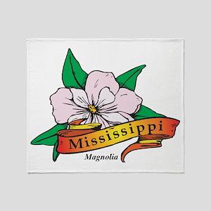 Mississippi Throw Blanket