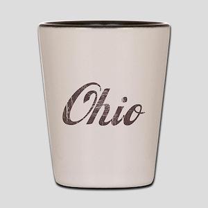Vintage Ohio Shot Glass