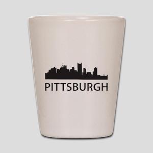 Pittsburgh Skyline Shot Glass