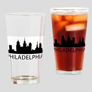 Philadelphia Skyline Pint Glass