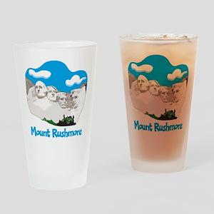 Mount Rushmore Pint Glass