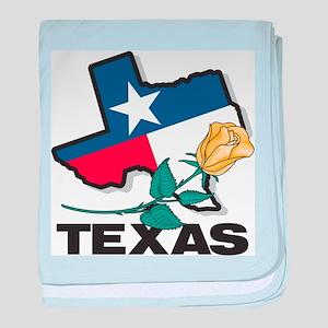 Texas baby blanket