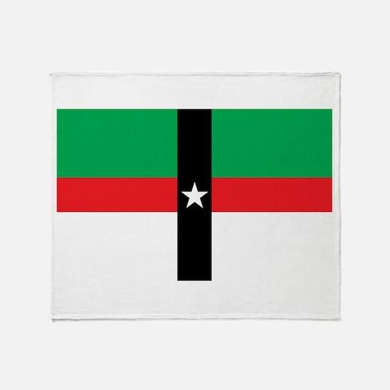 Denison Flag Throw Blanket