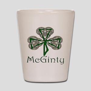 McGinty Shamrock Shot Glass