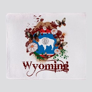 Butterfly Wyoming Throw Blanket