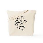 MUSICAL NOTES Tote Bag
