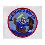 USS DAMATO Throw Blanket
