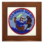 USS DAMATO Framed Tile