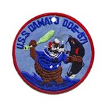 USS DAMATO Ornament (Round)