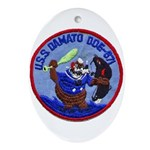 USS DAMATO Ornament (Oval)