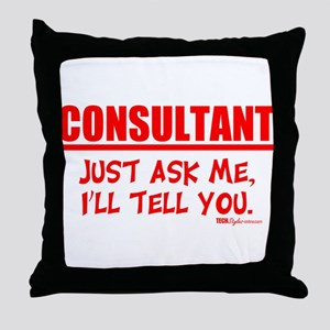Consultant Throw Pillow
