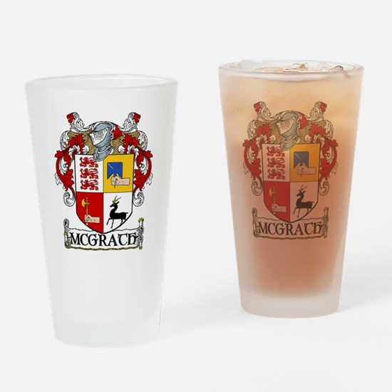 McGrath Coat of Arms Pint Glass