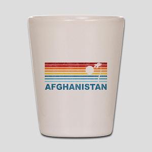 Palm Tree Afghanistan Shot Glass