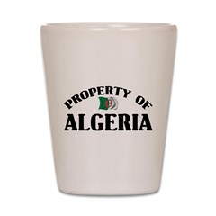 Property Of Algeria Shot Glass