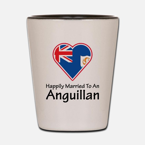 Happily Married Anguillan Shot Glass