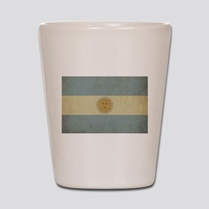 Vintage Argentina Flag Shot Glass