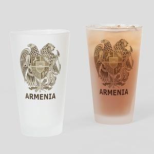 Vintage Armenia Pint Glass