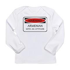 Attitude Armenian Long Sleeve Infant T-Shirt