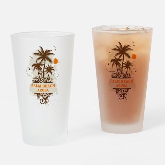 Palm Beach Aruba Pint Glass