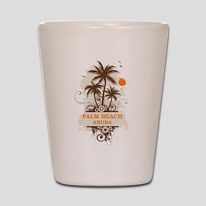 Palm Beach Aruba Shot Glass