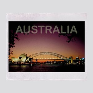 Australia Throw Blanket