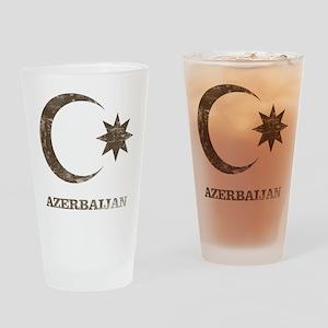 Vintage Azerbaijan Pint Glass
