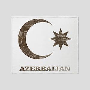 Vintage Azerbaijan Throw Blanket