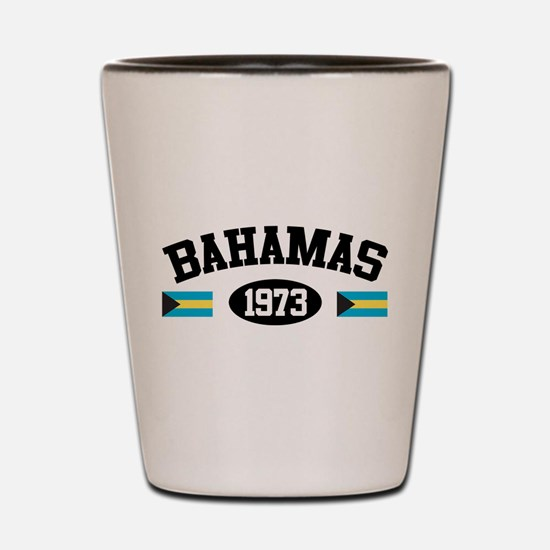 Bahamas 1973 Shot Glass