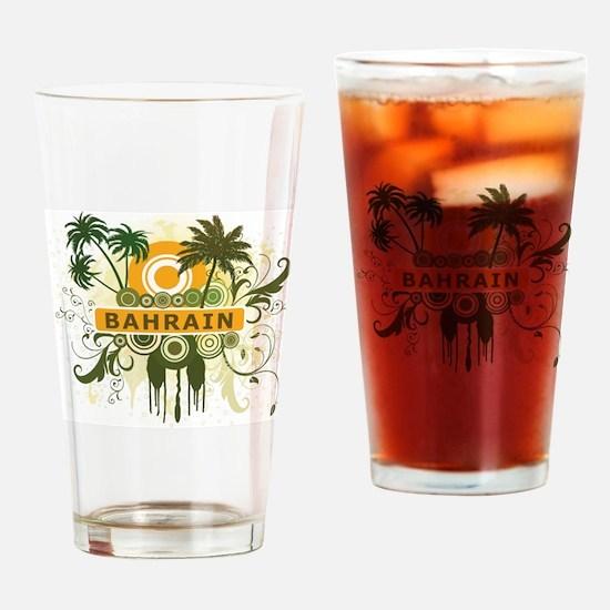 Palm Tree Bahrain Pint Glass