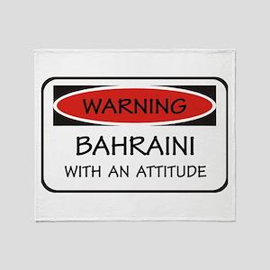Attitude Bahraini Throw Blanket