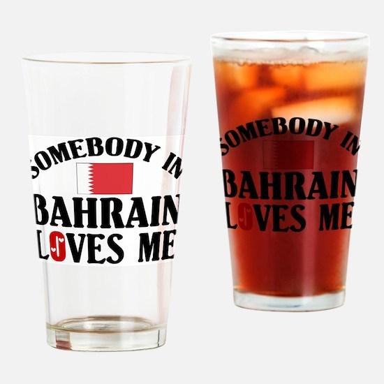 Somebody In Bahrain Pint Glass