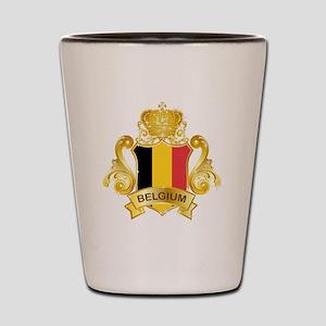 Gold Belgium Shot Glass