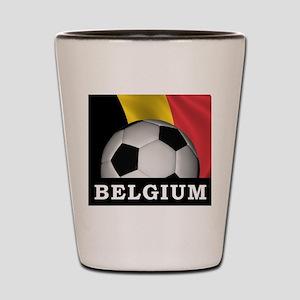 World Cup Belgium Shot Glass