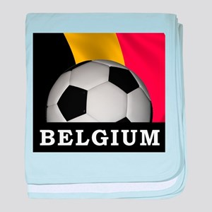 World Cup Belgium baby blanket
