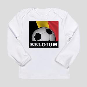 World Cup Belgium Long Sleeve Infant T-Shirt