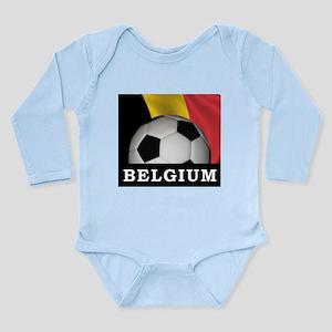 World Cup Belgium Long Sleeve Infant Bodysuit