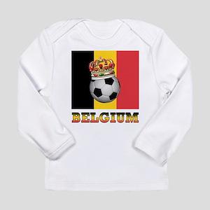 Belgium Football Long Sleeve Infant T-Shirt