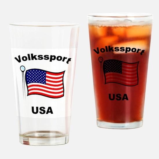 Volkssport USA Pint Glass