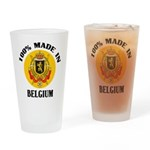 100% Made In Belgium Pint Glass
