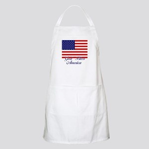 God Bless America BBQ Apron