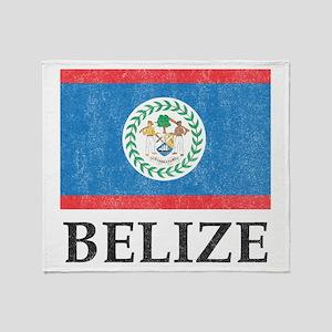 Vintage Belize Throw Blanket
