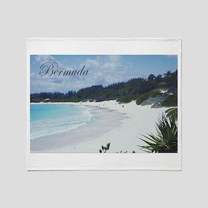 Bermuda Beach Throw Blanket