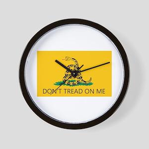 Don't Tread On Me (Gadsden Flag) Wall Clock
