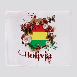 Butterfly Bolivia Throw Blanket