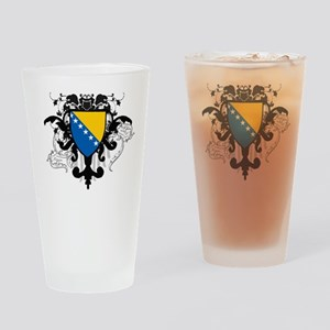 Stylish Bosnia Pint Glass