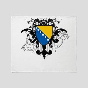 Stylish Bosnia Throw Blanket