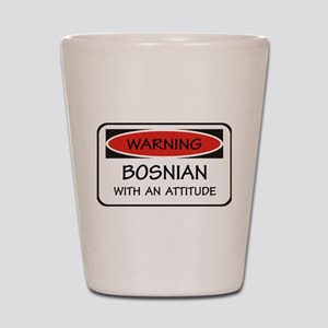 Attitude Bosnian Shot Glass
